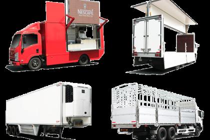 thùng xe tải thiết kế theo xe tại qyền auto