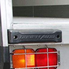 cao su góc sau thùng tải lạnh trên 6 tấn