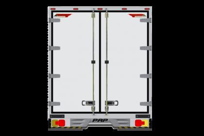 khung xe tải 750 mặt sau