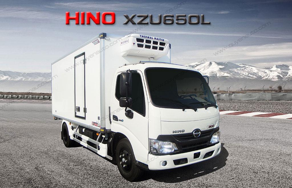 Xe tải đông lạnh HINO XZU650L-HBMMN3