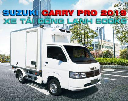 Xe tải nhẹ đông lạnh nội thành Suzuki Carry Pro 2019