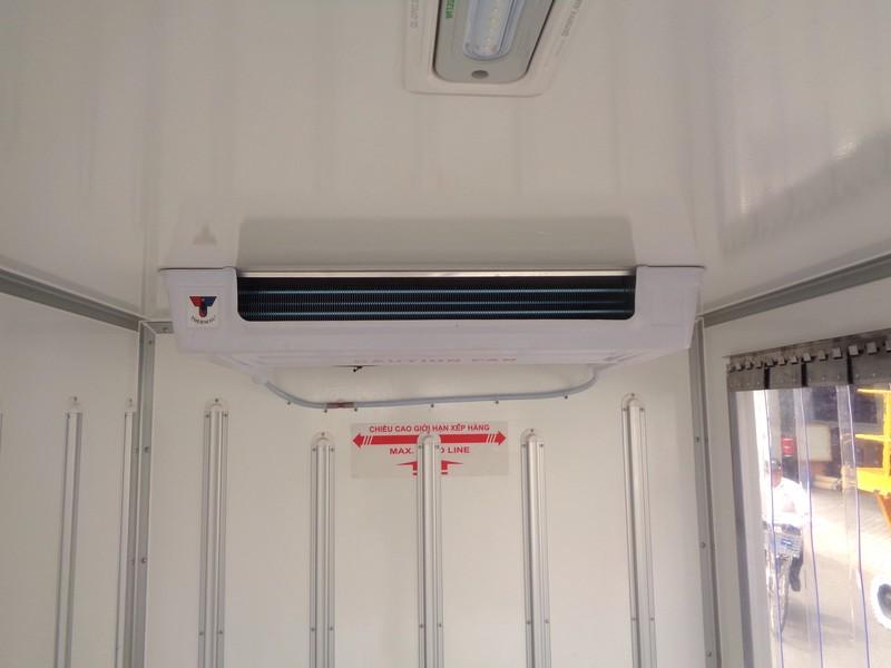 Thiết kế bên trong H150 thùng xe đông lạnh
