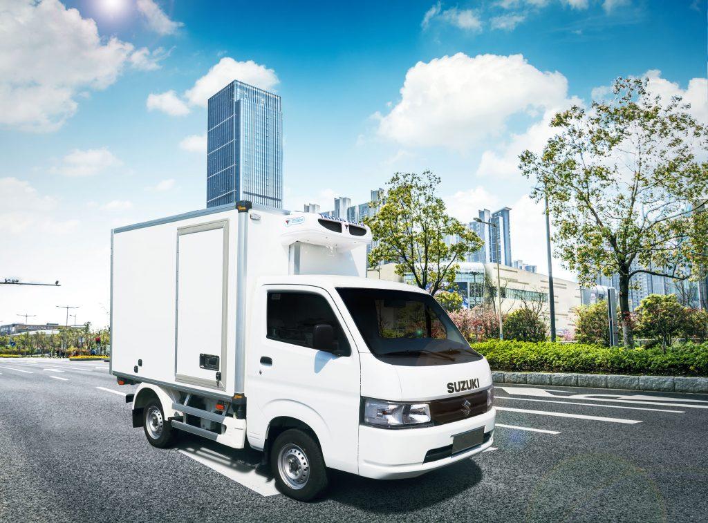 thùng xe tải đông lạnh suzuki