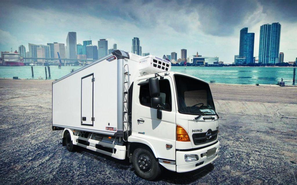 xe tải thùng đông lạnh HINO FC9JLTC