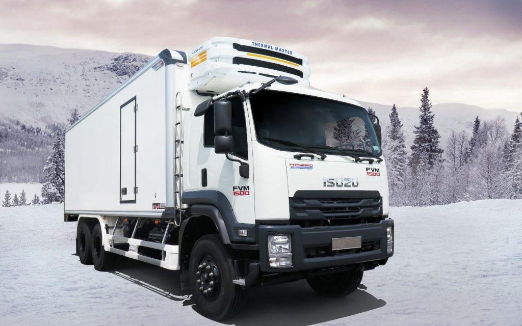 Xe tải đông lạnh 3 chân ISUZU FVM EURO4