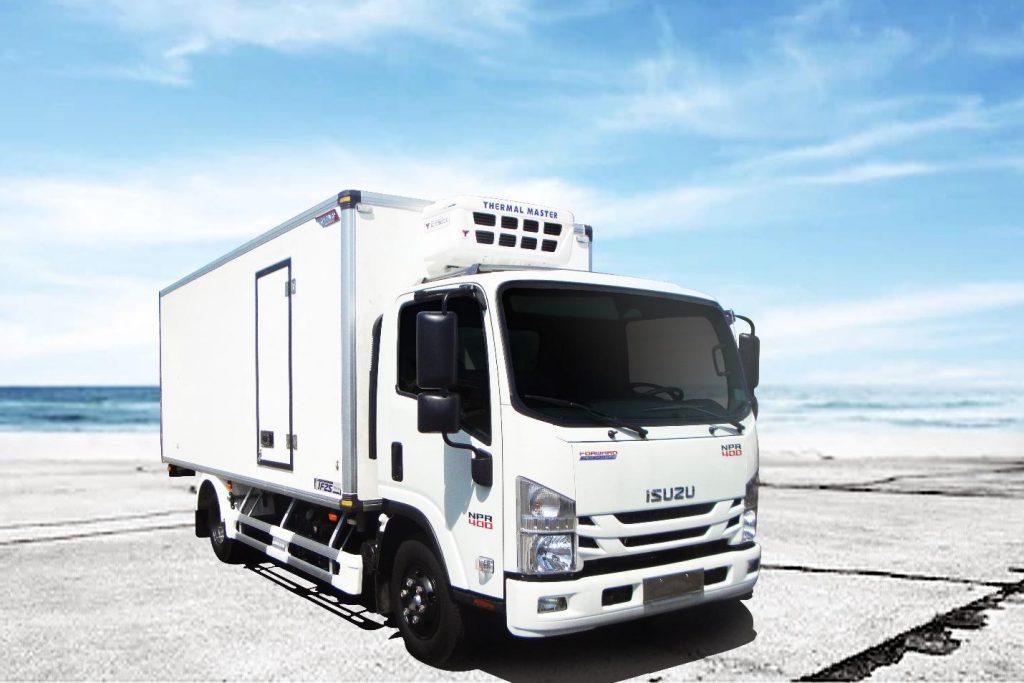 Xe tải đông lạnh ISUZU NPR85KE4