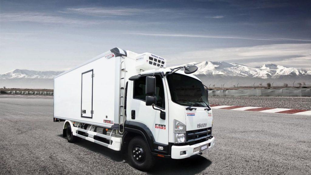 xe tải đông lạnh ISUZU FRR