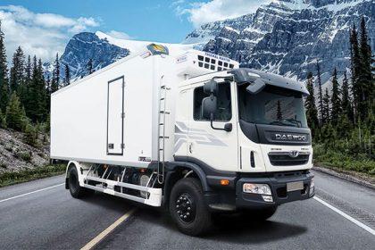 Xe tải DAEWOO 8 tấn thùng đông lạnh – bảo ôn – tải kín
