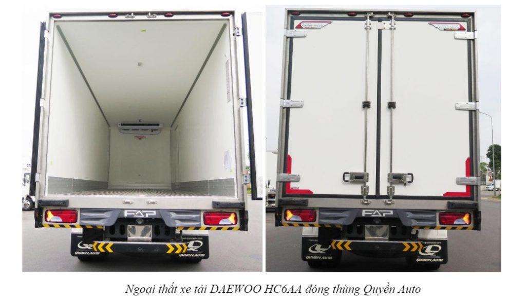 cửa xe xe tải DAEWOO